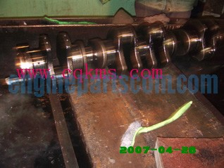 engine crankshaft,assembly 3073707,cummins CAYENNE,