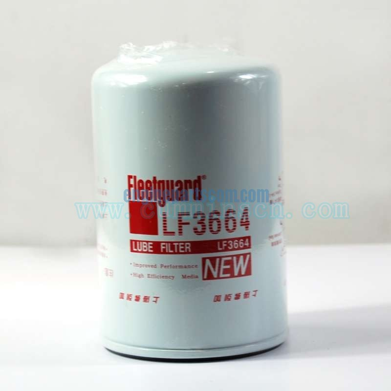 Construction assembly,lub oil filter LF3664