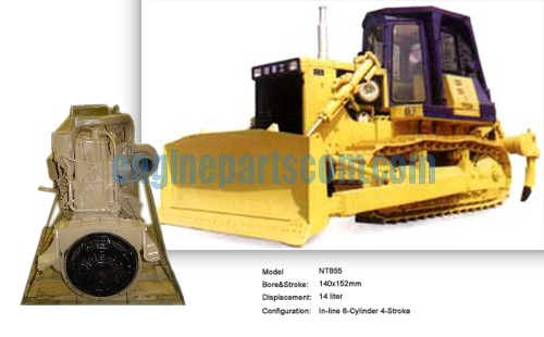 NT855-C280H cummins,Crawler Bulldozer engine spare part