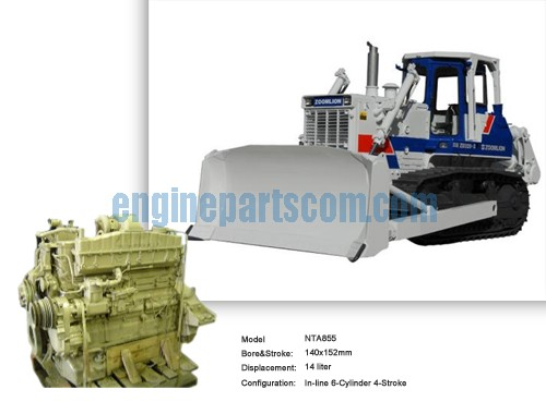 Wetland Bulldozer diesel mating parts