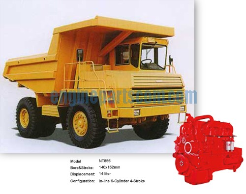 NTA855 mining-machinery plant standard parts
