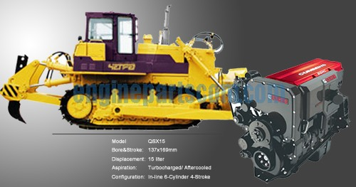 NT855 Sanitation Dozer interchangeable parts
