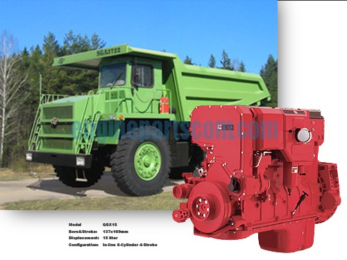NTA855 Mineral mining equipment accessories