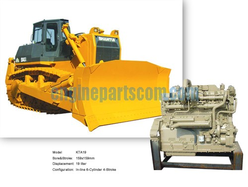 NT855 Wetland Bulldozer accessories