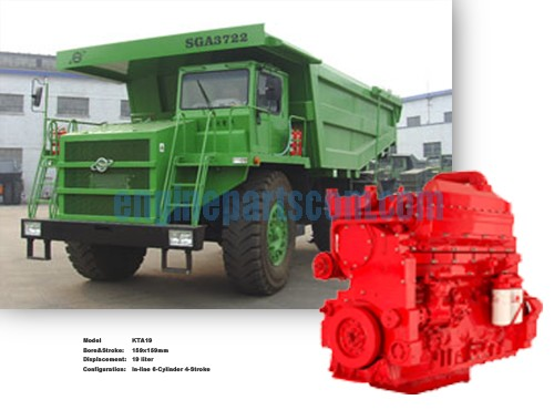 cummins KTA38 Mining dump trucks spare detail,Somalia engine parts,
