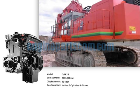 tip truck QSK19-C700 cummins head,cylinder,cummins CRA,mining machinery parts Sierra Leone,IOVA