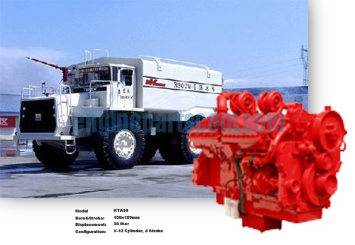 Mineral mining equipment engine spare part