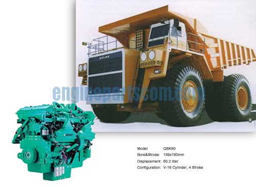 mining diesel moving part