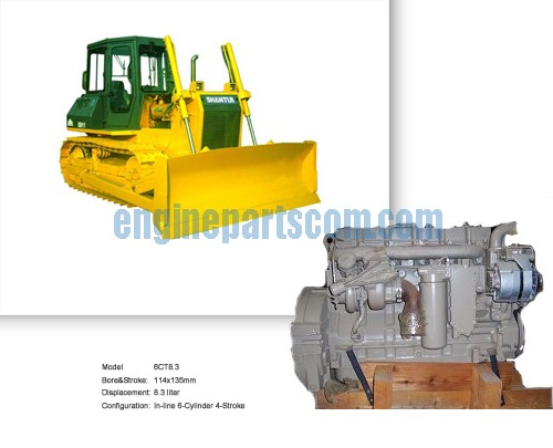 NTA855 Cover with Bulldozer accessories