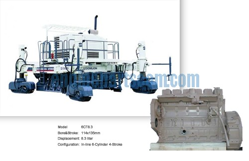 Crawler Paver maintenance overhaul piece part,RZESZOW cummins,