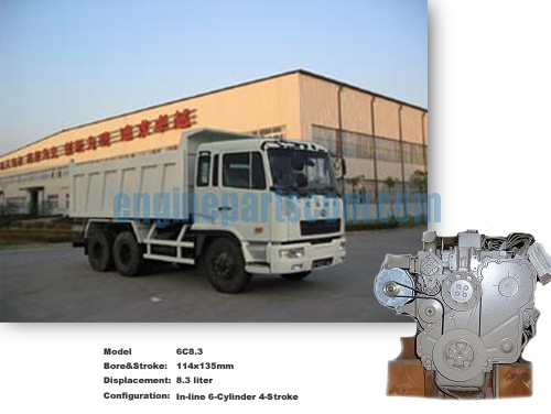 Dump Truck diesel exchangeable parts,cummins DAPARIZO,