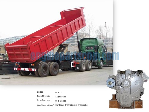 M11 tipping vehicle interchangeable parts