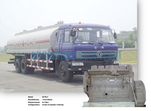 M11 Oil truck standard parts,cummins BARRANCA BERMEJA,